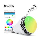 Altoparlante astuto variopinto di Bluetooth della lampadina del LED e controllo di APP