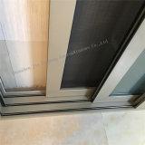 Moderner Entwurfs-schalldichte Aluminiumschiebetür mit doppeltem Glas (JFS-19021)