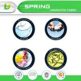Protector impermeable del colchón del algodón orgánico del 100%