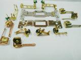 Acessórios carimbados metal da parte com amostras livres