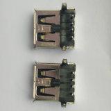 USB 2.0 a/F conetor do MERGULHO de 90 graus