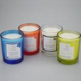 Vela Handmade Multi-Colored da coluna do perfume da decoração