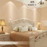 Nahtlose chinesische Art-quadratische prägentapeten-Gewebe-Wohnzimmer-Schlafzimmer-Studie