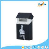 Caixa de cigarro amigável do silicone de Eco do teste padrão do dedo médio