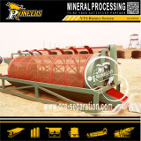Piccola pianta rotativa della lavata di estrazione dell'oro della macchina di preparazione del minerale metallifero dello schermo