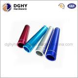 Qualität kundenspezifischer hoher Präzisions-CNC gedrehter Edelstahl/Messing-/Aluminiumgefäß