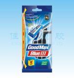Doppelblatt-wegwerfbares Rasierrasiermesser (Goodmax)