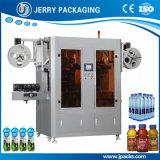 Automatischer runder u. quadratischer Flascheshrink-Hülsen-Plastiketikettierer