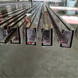 Versiering van het Kanaal van U van het Frame van de Deur van het Roestvrij staal van de Kleur van de douane de Binnenlandse