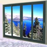 De hete Schuifdeur van het Aluminium van het Glas van de Verkoop Dubbel Aangemaakte met As2047