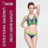 女性のセクシーな水着のかぎ針編みの水泳の摩耗(L32570)