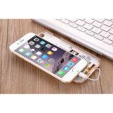 1ra cubierta/caja elegantes de múltiples funciones de la dial de la llamada de teléfono para el iPhone 5/6/6plus