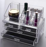 Tiroirs cosmétiques acryliques Orgaization de maquillage d'organisateur