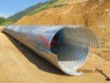 Großer Durchmesser-gewölbter Stahlentwässerung-Rohr-Abzugskanal von der Fabrik 10 Jahre