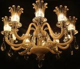 Luz de cristal moderna do candelabro da iluminação do pendente da decoração de Phine