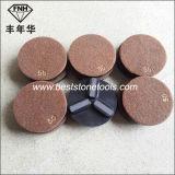 화강암 수평하게 하기를 위한 크롬 18 수지 유대 세그먼트 닦는 패드 (100X10mm)