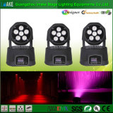 DMX buntes Wäsche-Licht der Qualitäts-6PCS LED