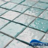 フォーシャンの製造業者の安く艶をかけられた陶磁器のモザイク青い磁器のプールのタイル