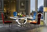 Комплект обедая таблицы нержавеющей стали конструкции горячего надувательства 2016 роскошный