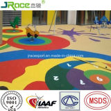 Grânulo disponível das várias cores EPDM para o revestimento do campo de jogos das crianças