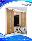 China-kundenspezifischer Stall-hölzerne Plättchen-Tür-Hardware Bdh-04