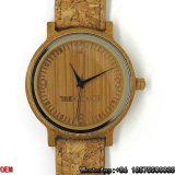 최상 건류된 대나무 시계 석영 시계 Hl18