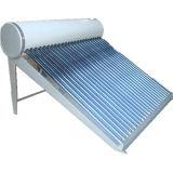 Chauffe-eau solaire de vide d'acier inoxydable