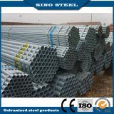 Tubo de acero galvanizado sección de la depresión del acero de carbón de Q195 Q235