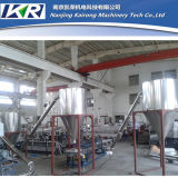 수용량 500-800kg/H Tse 75b PP PE Twin Screw Extruder Filler Masterbatch Machine