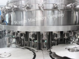 Bibite analcoliche gassose automatiche piene che imbottigliano macchinario