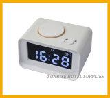 Большой будильник индикации LCD с поручая функцией для гостиницы