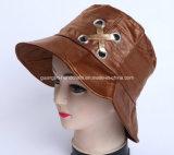 Chapéu bordado cabido elegante colorido da cubeta