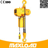 Таль с цепью 2 тонн электрическая с типом крюка фикчированным (HHBB02-01SF)