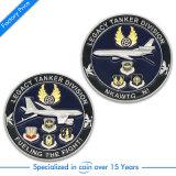 O desafio antigo da lembrança da marinha do OEM comemora a moeda de ouro militar