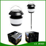 Full Function Mosquito Dispeller Solar Lawn Lanscape Spike Light Solaire suspendue Emergency Camping Lantern Outdoor IP65 Tent Lamp