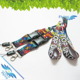 Одиночное Cheap Sublimation Lanyard с Various Hook