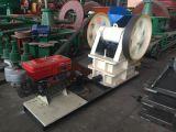 Kiefer-Zerkleinerungsmaschine, die mobile Kiefer-Zerkleinerungsmaschine, Steinkiefer-Zerkleinerungsmaschine