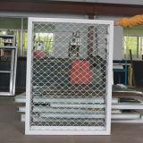 Guichet en verre en aluminium d'obturateur avec le réseau Kz227 de cambrioleur d'acier inoxydable