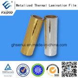 24mic metallisierter lamellierender Film mit EVA-Kleber