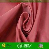 Tela caliente de la ropa de la memoria de la tela cruzada del algodón brillante de la tela