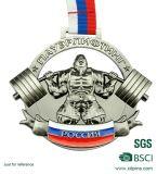 Medallón de cobre amarillo de encargo del mosaico del metal para la venta al por mayor