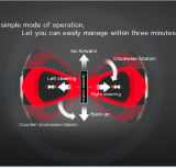 CE/RoHS/FCC de Hete Dubbele Wielen die van Bluetooth van de Verkoop Autoped afdrijven