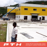 Progetto di chiave in mano delle costruzioni prefabbricate della struttura d'acciaio