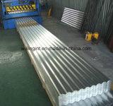 機械ラインを形作る金属によって波形を付けられる壁シートロール