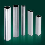 Grado dell'acciaio 304 del tubo, parete 1.5mm del tubo per costruzione e decorazione inossidabili