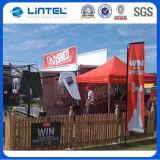 Pólo publicitário promocional da bandeira da bandeira da praia (LT-17G)