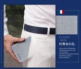 Raccoglitore di cuoio reale della scheda del supporto della cassa di scheda degli accessori di modo
