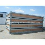 Camera prefabbricata di lusso e moderna del contenitore con il blocco per grafici d'acciaio