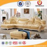 Da mobília americana da sala de visitas do estilo da forma sofá de couro moderno (UL-XB61)