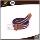 Cinghie elastiche Braided dell'uomo del tessuto di colore della miscela di modo dell'OEM